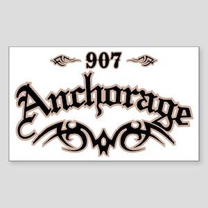 Anchorage 907 Sticker (Rectangle)