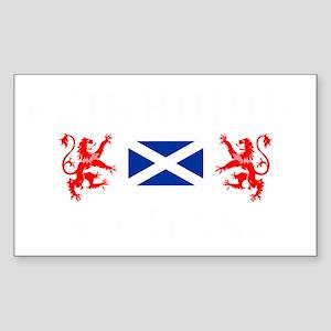 Edinburgh Scotland Sticker (Rectangle)