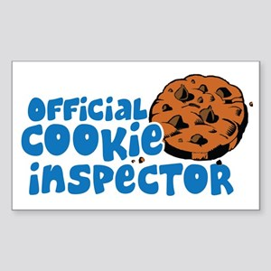 Official Cookie Inspector Sticker (Rectangle)