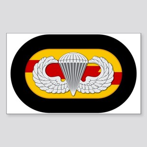 75th Ranger Airborne Sticker (Rectangle)