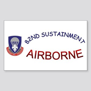 82nd Sustainment BDE Sticker (Rectangle)