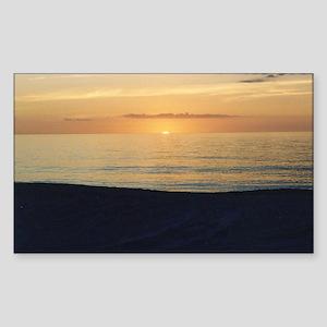 Marco Island, FL - Sunset Sticker (Rectangle)