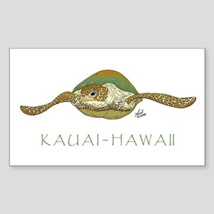 Sea Turtle Rectangle Sticker