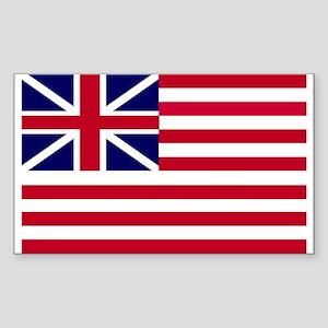 Grand Union Rectangle Sticker