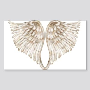 Golden Angel Sticker (Rectangle)