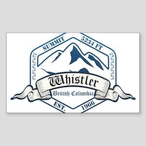 Whistler Ski Resort British Columbia Sticker