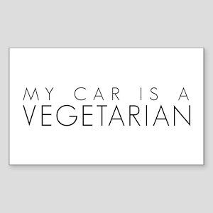 VEGE CAR Rectangle Sticker