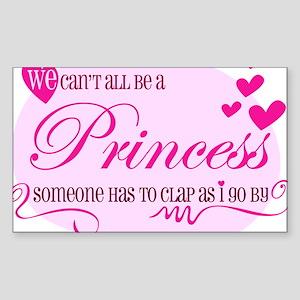 I'm the Princess Sticker (Rectangle)