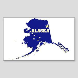 Alaska Flag Sticker (Rectangle)