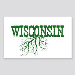 Wisconsin Roots Sticker (Rectangle)