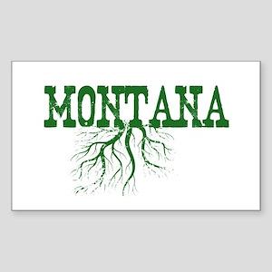 Montana Roots Sticker (Rectangle)