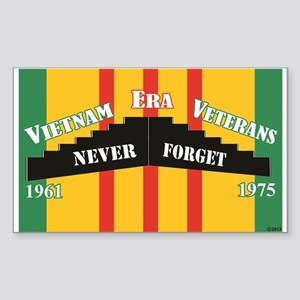 Vietnam Era Veteran Memorial Sticker