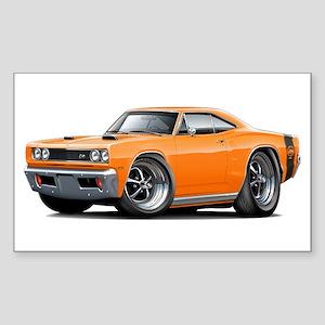 1969 Super Bee Orange Car Sticker (Rectangle)