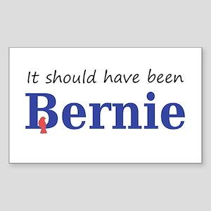It should have been Bernie Sticker