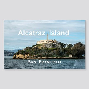 SanFrancisco_18.8x12.6_Alcatra Sticker (Rectangle)