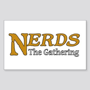 Nerds The Gathering Sticker (Rectangle)