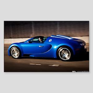 Bugatti8 Sticker (Rectangle)