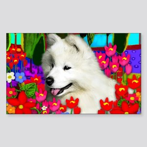 samoyedpupp Sticker (Rectangle)