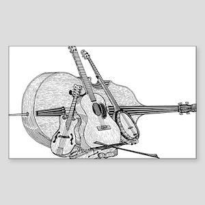 Bluegrass-2 Sticker (Rectangle)