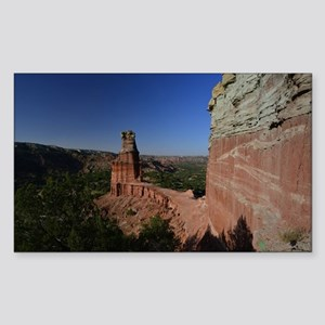 The Lighthouse in Palo Duro Ca Sticker (Rectangle)