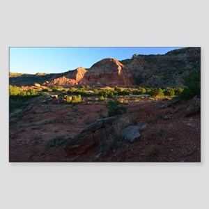 Morning Light at Palo Duro Sticker (Rectangle)