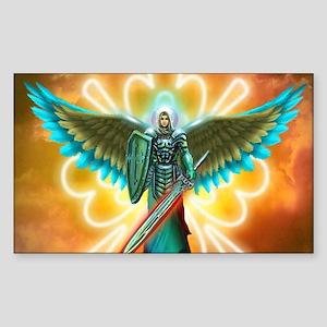Angel Of God Sticker (Rectangle)