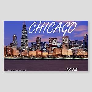 chicago 2014 Sticker (Rectangle)