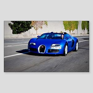 Bugatti10 Sticker (Rectangle)