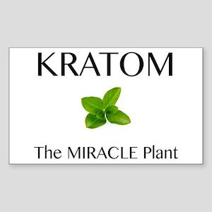 Kratom Miracle Sticker