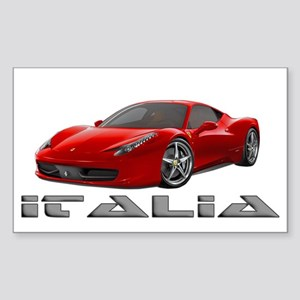 Ferrari Italia Sticker (Rectangle)