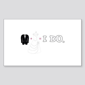 I DO. Sticker