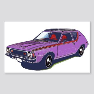 Purple Gremlin Rectangle Sticker