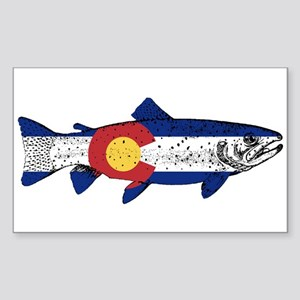 Fish Colorado Sticker