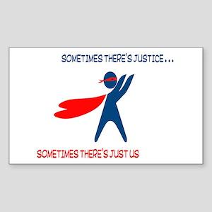 CASA Hero Justice Sticker