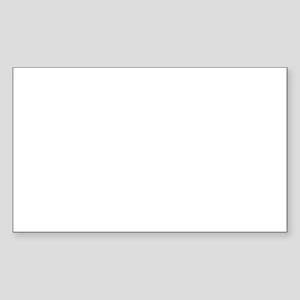 Angel Wings (wide) Sticker (Rectangle)