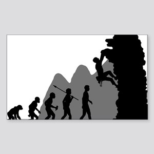 Climbing Sticker (Rectangle)