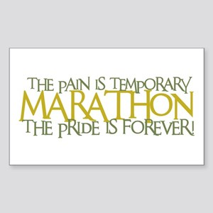 Marathon- The Pride is Forever Sticker (Rectangula