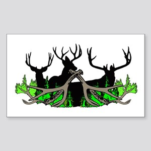 Deer shed 3 Sticker (Rectangle)