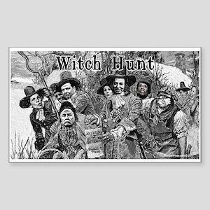 Witch Hunt Sticker