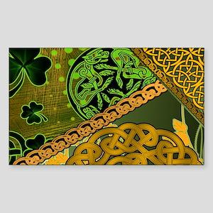 CELTIC-KNOTWORK-IRISH-LAPTOP-S Sticker (Rectangle)