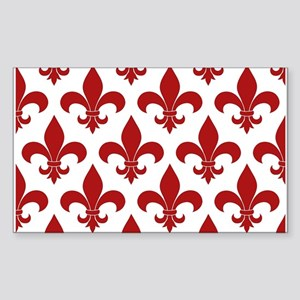 Fleur de lis French Pattern Parisian Design Sticke
