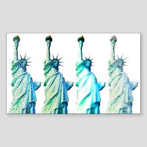 Liberty Sticker (Rectangle)