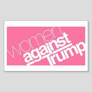 Women Against Trump Sticker
