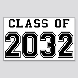 Class of 2032 Sticker (Rectangle)