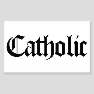Catholic Rectangle Sticker