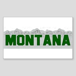 Montana Rectangle Sticker