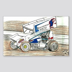 Sprints at Lincoln Sticker