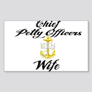 CPO Wife Sticker (Rectangle)
