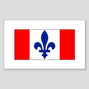 French Canadian Sticker (Rectangle)