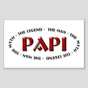 Papi - The legend Rectangle Sticker